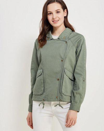 Зеленая куртка весенняя Roxy