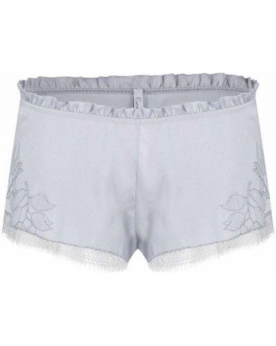 Шелковые шорты - серые Carine Gilson