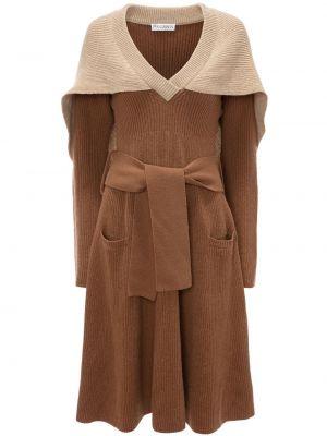Трикотажное платье миди Jw Anderson