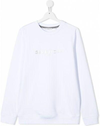 Bluza z długimi rękawami bawełniana z printem Givenchy
