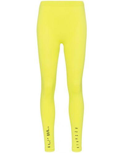 Желтые леггинсы эластичные Unravel Project