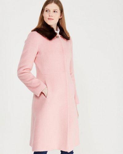 Пальто демисезонное розовое United Colors Of Benetton