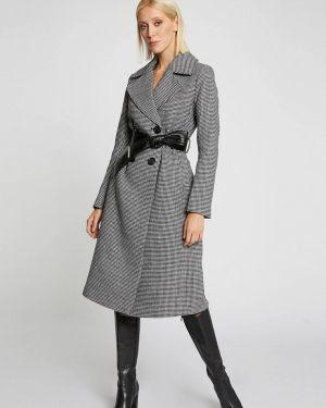 Пальто демисезонное серое Morgan