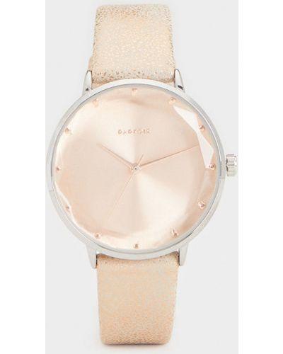 Водонепроницаемые часы с круглым циферблатом розовый Parfois