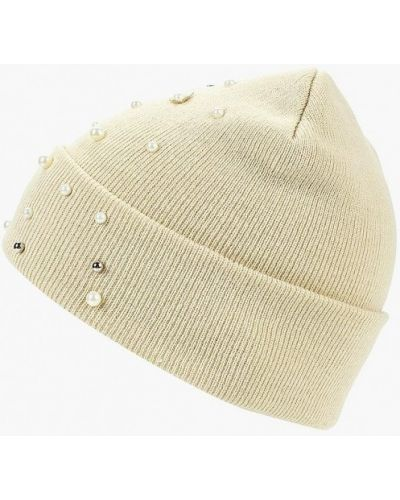 Бежевая шапка осенняя Befree