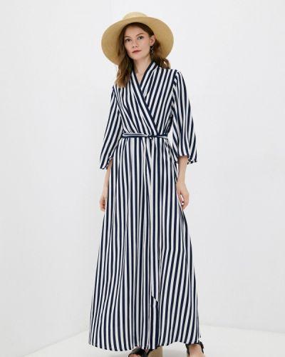 Пляжное синее платье Petit Pas