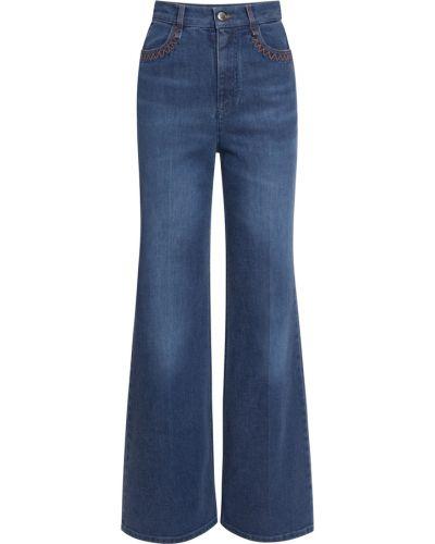 Niebieskie spodnie Chloe