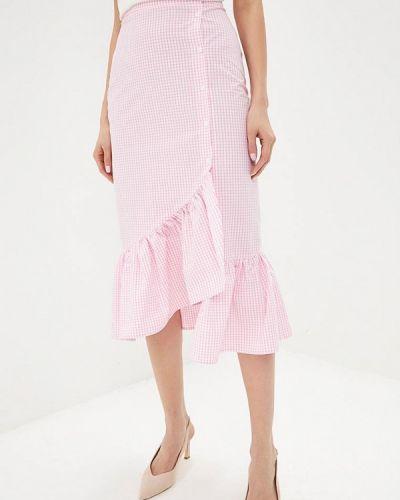 Юбка широкая розовая Fashion.love.story