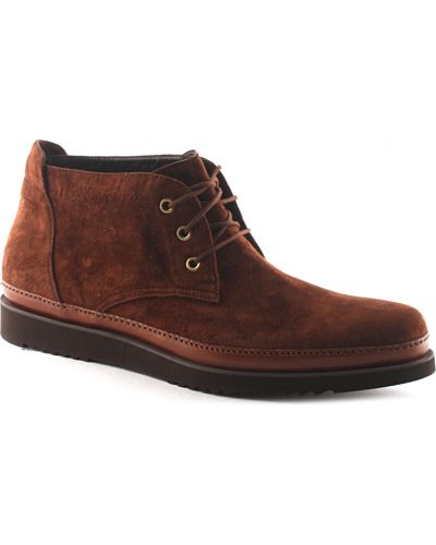 Ботинки осенние кожаные замшевые Cesare Paciotti