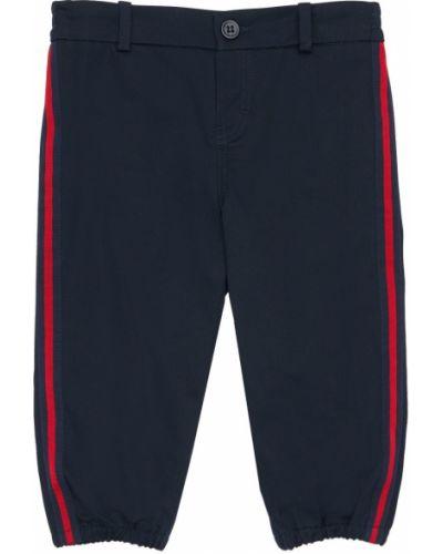Spodnie w paski bawełniane Gucci