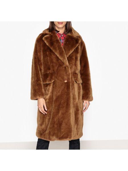 Длинное пальто на пуговицах с воротником Essentiel Antwerp