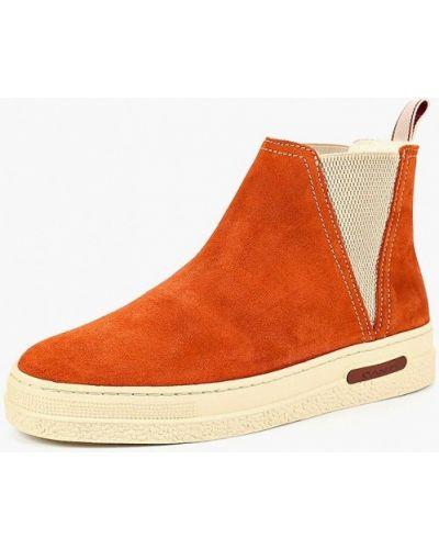 Ботинки осенние замшевые Gant