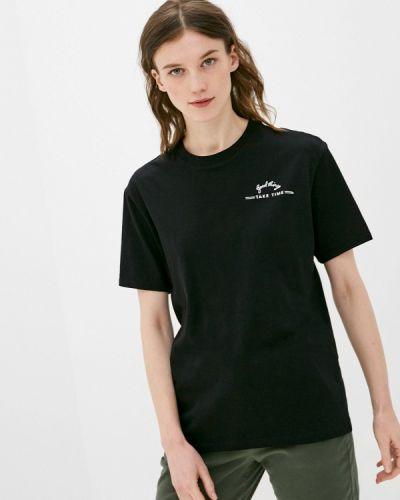 Черная футболка с короткими рукавами S.oliver