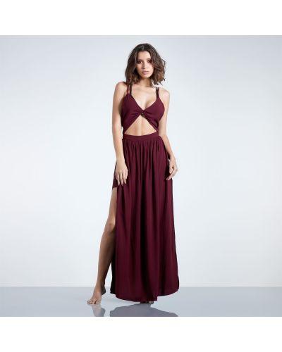 Sukienka długa bordowa Firetrap