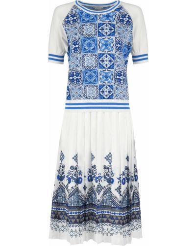 Платье из вискозы - белое Ballantyne