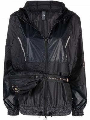 Ветровка с капюшоном - черная Adidas By Stella Mccartney