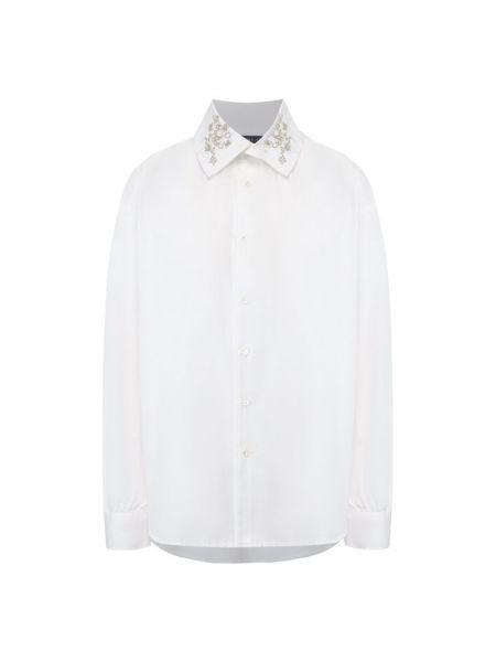 Рубашка с пышными рукавами с орнаментом Polo Ralph Lauren