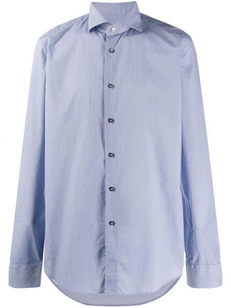 Koszula z długim rękawem klasyczna długa Dell'oglio