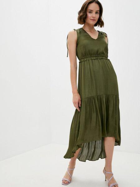 Платье - зеленое Banana Republic