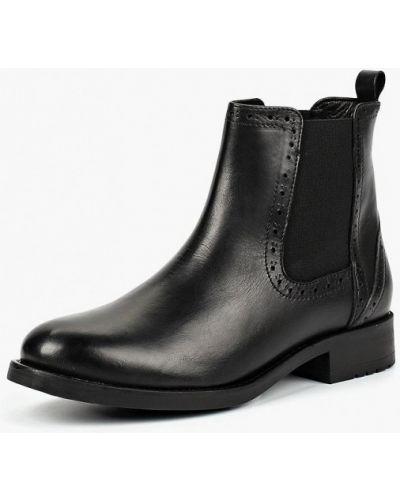 Ботинки челси кожаные осенние Zign