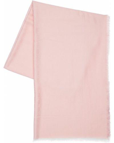 Różowy etola wełniany Gucci