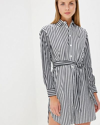 Черное платье рубашка Polo Ralph Lauren