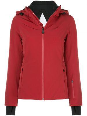 Куртка с капюшоном мятная на молнии узкого кроя с карманами Aztech Mountain
