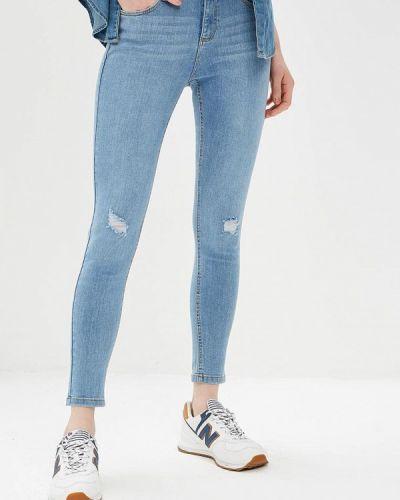 Голубые джинсы-скинни Dorothy Perkins