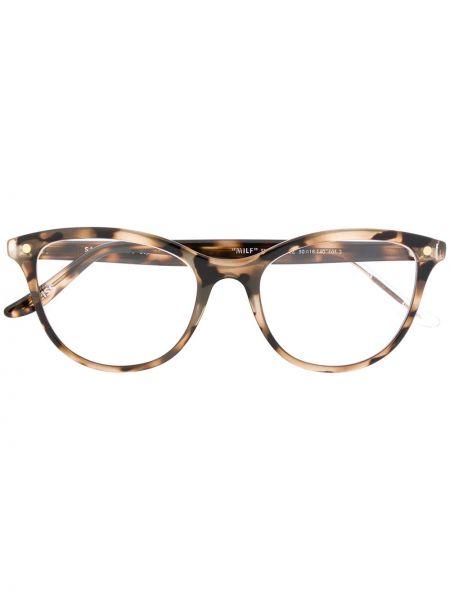 Brązowe okulary Snob