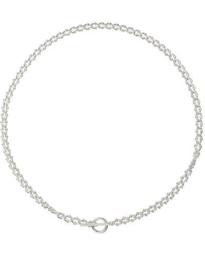 Серебряное ожерелье для полных All Blues