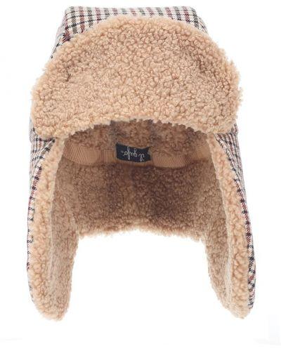 Beżowy kapelusz z wiskozy Il Gufo