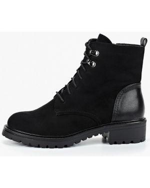Ботинки на каблуке осенние черные T.taccardi