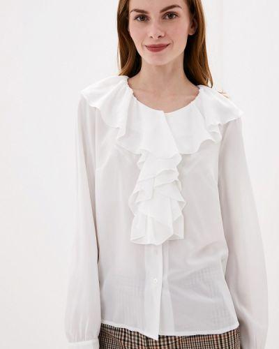 Блузка с длинным рукавом польская белая Vera Moni