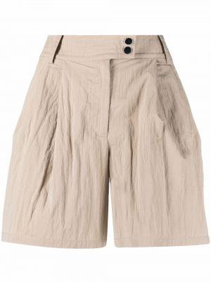 С завышенной талией хлопковые шорты на пуговицах Armani Exchange