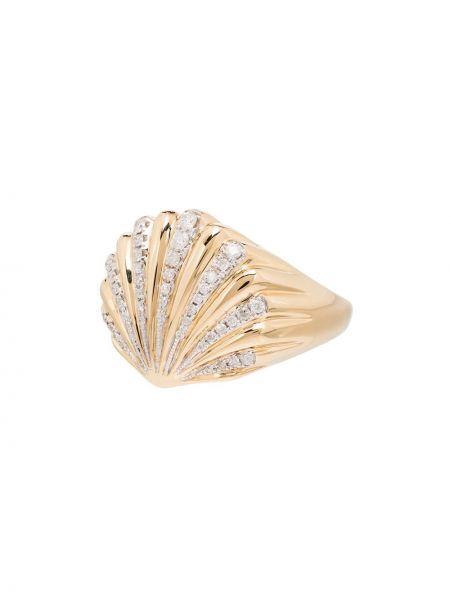 Pierścień metal ze złota Yvonne Léon