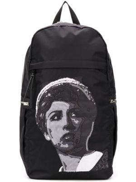 Czarny plecak z nylonu Undercover