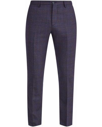 Прямые брюки в клетку с карманами Etro