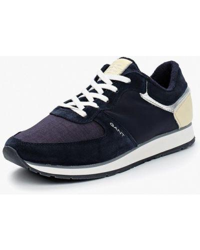 Синие кроссовки Gant