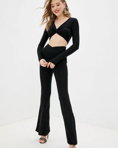 Костюмный черный брючный костюм By Swan
