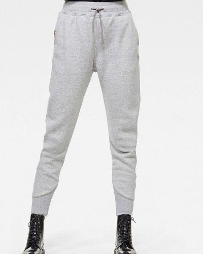Спортивные серые спортивные брюки G-star