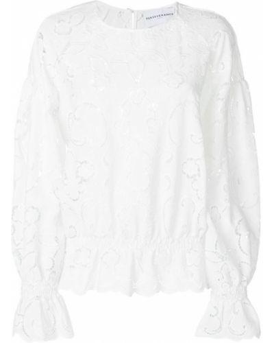 Блузка с вышивкой белая Perseverance London