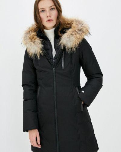 Черная зимняя куртка Soia & Kyo