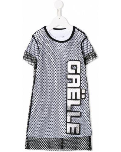 Платье с рукавами короткое белое Gaelle Paris Kids