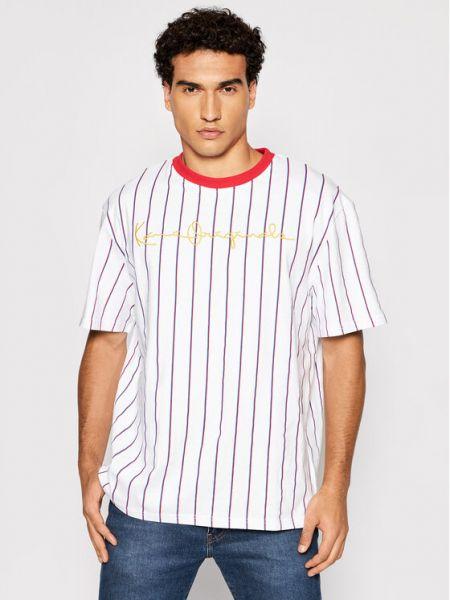 Biała t-shirt Karl Kani