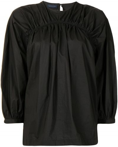 Хлопковая блузка - черная Eudon Choi