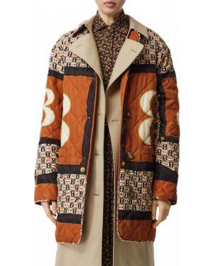 Куртка на пуговицах с карманами Burberry