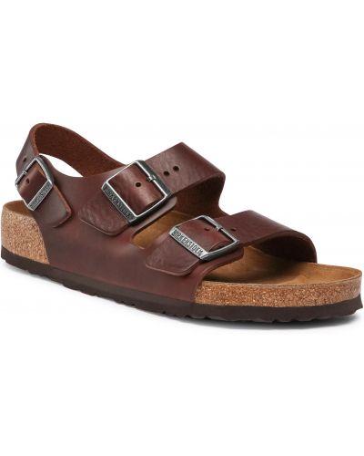 Brązowy sandały zabytkowe Birkenstock