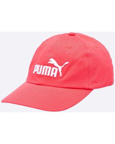 Розовая шапка Puma
