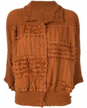 Куртка на пуговицах с цветочным принтом Issey Miyake Cauliflower