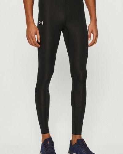 Czarne legginsy z nylonu Under Armour